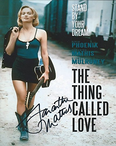 samantha mathis the thing called love autographed 8x10 photo cha