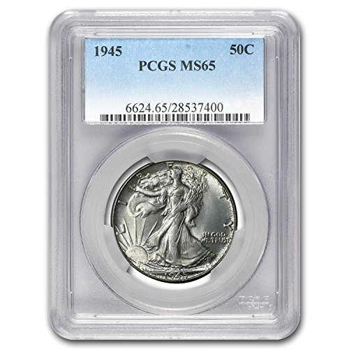 1945 Walking Liberty Half Dollar MS-65 PCGS Half Dollar MS-65 PCGS
