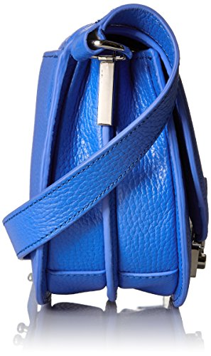 Body Cross Leather Periwinkle Bag Saddle LOEFFLER RANDALL Tumbled X7Zqn1xAg