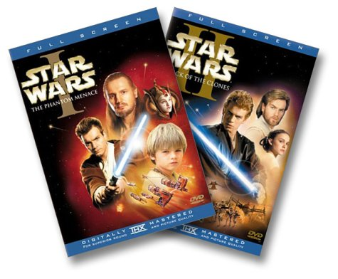 Star Wars: Episodes I & II (Full Screen Edition) (Star Wars Widescreen Trilogy)