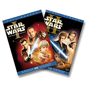 Star Wars: Episodes I & II (Full Screen Edition) (2002)