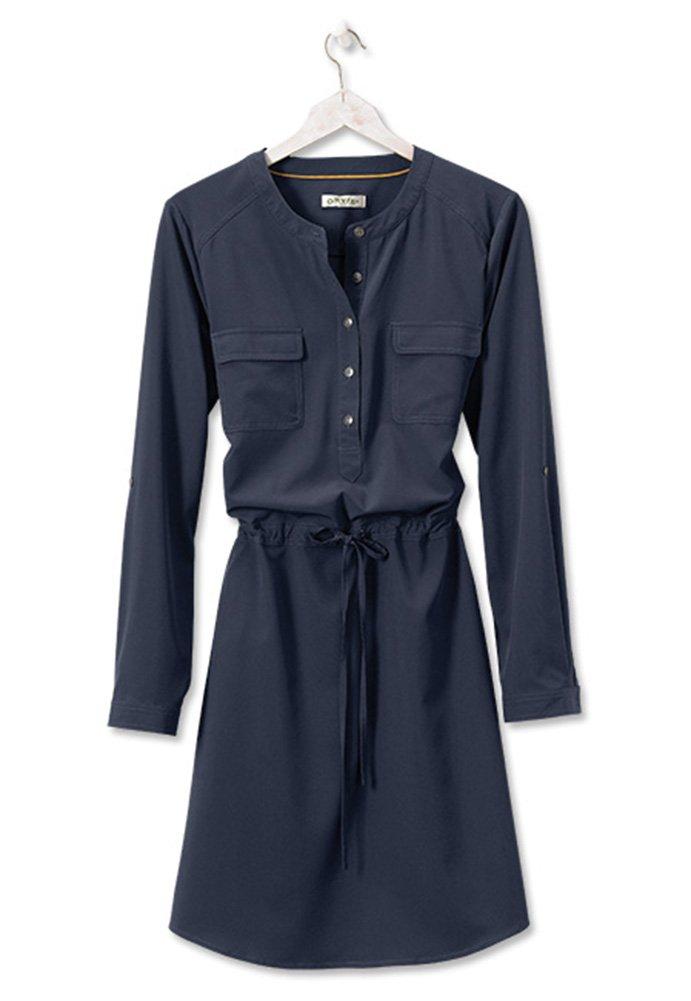 Orvis Women's Florence Travel Dress, Navy, Large