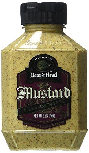 Boar's Head Deli Style Mustard with White Wine 9.5 Oz
