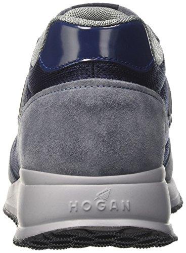 Hogan Hxm2460v58048873q - deportivas bajas Hombre Multicolore (Baltic/Blu Den)