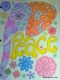 Amazon Hippie Animals Coloring Book Coloring Is Fun Design Originals 9781497202085