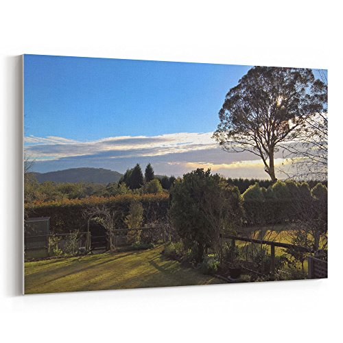 Westlake Art - Plant Sky - 12x18 Canvas Print Wall Art - Canvas Stretched Gallery Wrap Modern Picture Photography Artwork - Ready to Hang 12x18 Inch (6123-8CDEC)