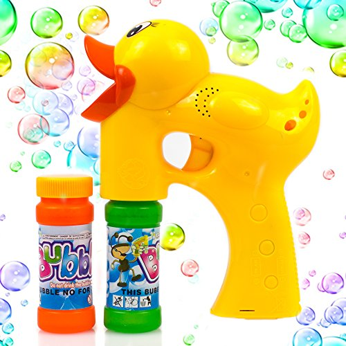 Cheap Buzz Lightyear (Duck Bubble Shooter Gun Toy With Sounds and Music-2 Bottles of Solution and Batteries)