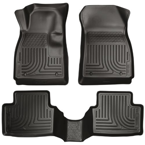 Husky Liners Front & 2nd Seat Floor Liners (Footwell Coverage) Fits 11-16 Fiesta