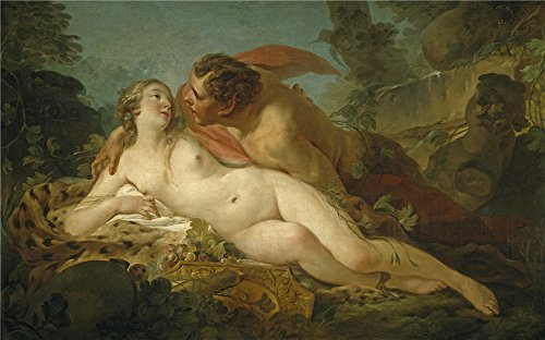 [The Polyster Canvas Of Oil Painting 'Pierre Jean Baptiste Marie Jupiter And Antiope Ca. 1747 ' ,size: 16 X 26 Inch / 41 X 65 Cm ,this Replica Art DecorativePrints On Canvas Is Fit For Kids Room Decoration And Home Decor And] (Trailer Trash Outfits)
