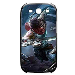 Talon-004 League of Legends LoL case cover Samsung Galaxy Note3 Plastic Black