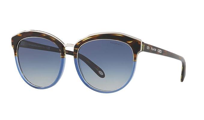 Tiffany & Co. 0TY4146 82464L 56 Gafas de sol, Azul (Havana ...