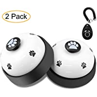 Dog Training Bell, Comsmart Set of 2 Dog Puppy Pet Potty Training Bells, Dog Cat Door Bell Tell…