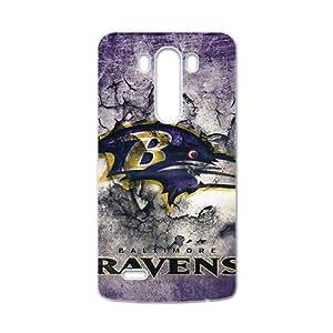 NFL Team Logo Baltimore Ravens Cell Phone Case FOR LG G3