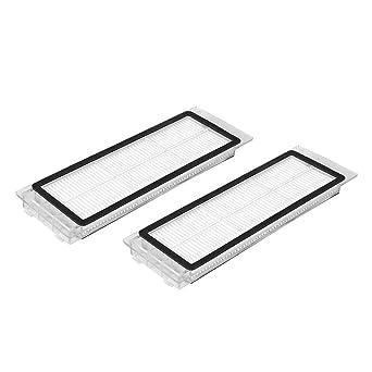 2 Unids Repuestos de Filtros HEPA para Xiaomi MI Robot S50 Filtros ...