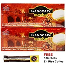 2 Boxes Gano Excel Ganocafé Mocha Coffee with FREE sample + Free Expedited Shipping By ConnieStore