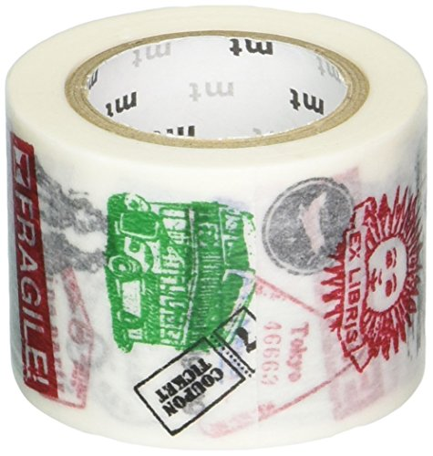 MT Washi Masking Tape Ex Stamps (MTEX1P69)