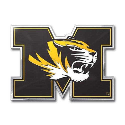 NCAA Missouri Tigers Die Cut Color Automobile - Malls Missouri Outlet
