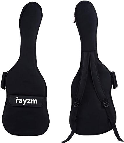 Rayzm funda para guitarra eléctrica, bolsa acolchada para guitarra ...