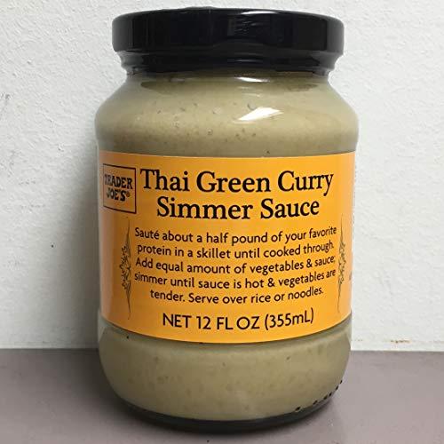 Trader Joe's Thai Green Curry Simmer Sauce