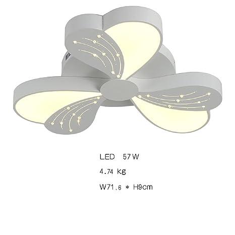 Lámpara Araña de Techo de Cristal 57W LED Instalación Fija ...