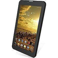 SLIDE 7 Dual SIM Unlocked 3G Tablet, Quad Core 1.3 GHz Processor, 8GB Storage, Android 5.1, Dual Cameras - Black