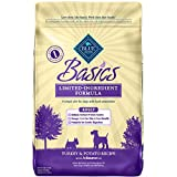 Blue Buffalo Basics Dry Dog Food, Turkey and Potato Recipe, 24-Pound Bag