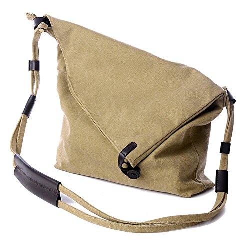 pengweiSimple bolso de lona bolsa de hombro de moda casual de la mochila , 2 1