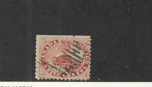 Canada, Postage Stamp, 15 Used, 1859 Beaver