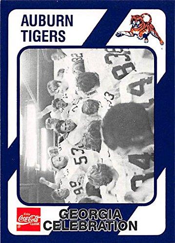 Spence Mccracken Georgia Celebration Football Card Auburn