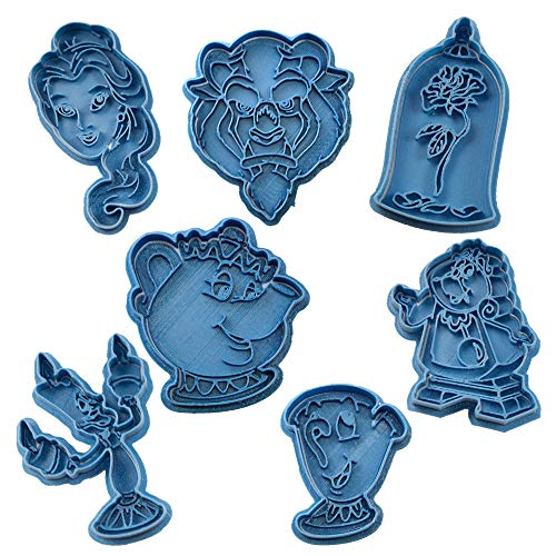 (Beauty and The Beast Cookie Cutters Pack)