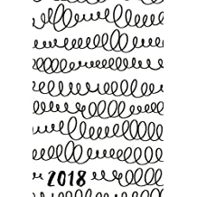 """2018: Daily Planner; 6""""x9"""" 12 Month Planner"""