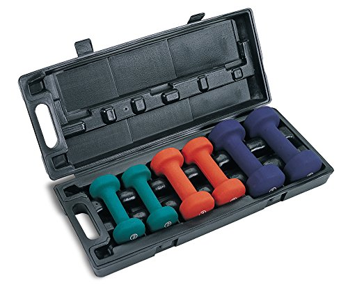 Marcy Neoprene Dumbbell Set (3-Pair)