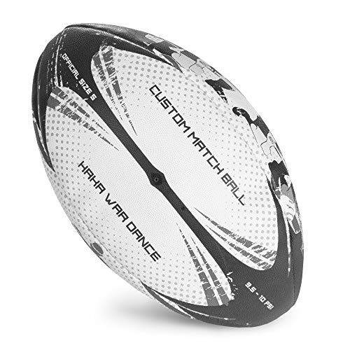 CSG Haka War Dance Style Rugby Ball - Official Size #5!