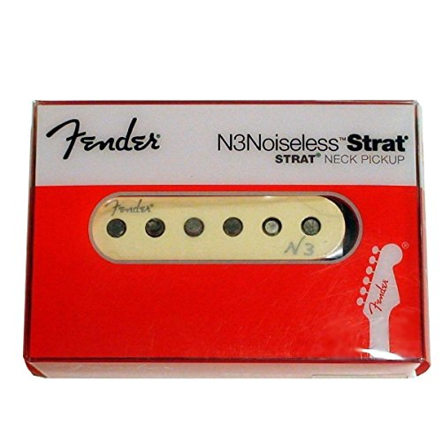 Noiseless Stratocaster Pickups (Fender Single N3 Noiseless Strat Neck Pickup)