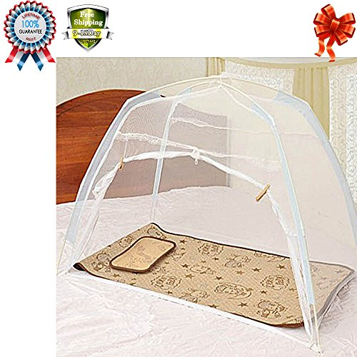 baby-kids-infant-nursery-bed-crib-canopy-mosquito-net-netting-play-tent-house