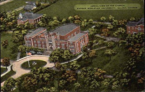Kansas Wesleyan University >> Amazon Com Aerial View Of The Campus At Kansas Wesleyan