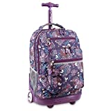 J World New York Sundance Rolling Backpack, Baby Birdy, One Size