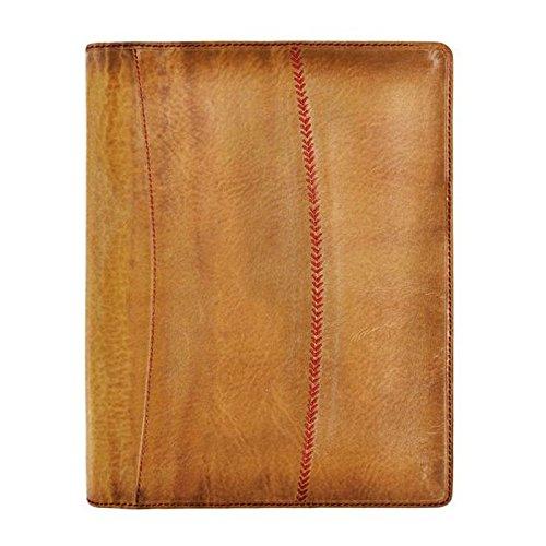 Rawlings Baseball Stitch Pad Folio - Tan