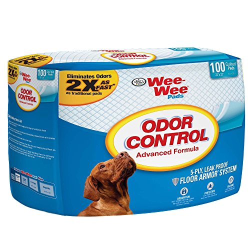 Cheap Four Paws Products FP97077 Wee Wee Odor Control Pad – 100 Count