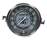 ISP West ''Vintage Series'' Green 120MPH Trip Speedometer
