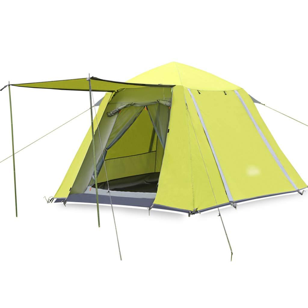 YaNanHome Zelt des Zeltes des im Freien Zeltes des Zeltes des Zeltes des Zeltes des Zeltes des Zeltes 3-4 Leute des Sonnenschutzes (Farbe : Grün, Größe : 210  210  165cm)