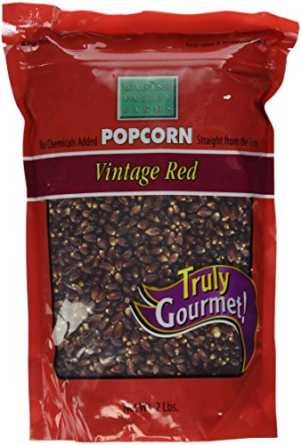 Wabash Valley Farms Gourmet Popping Corn, Vintage Red, 2-Pound Bag -