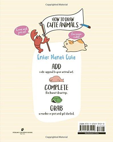 How To Draw Cute Animals Angela Nguyen 9781454931010 Amazon Com