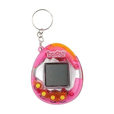 CWeep Machine Electronic Pet Game Machine, Child Nostalgic Tamagotchi Electronic Virtual Cyber Tiny Pet Toy Game Machine.: Hogar