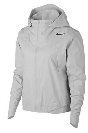 b92321cbfe40b Amazon.com: Nike Womens AeroShield Running Jacket Vast Grey Size ...