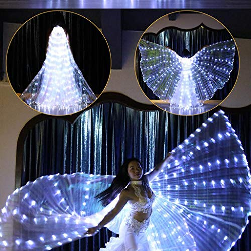 Gotian LED Belly Dance Angel Isis Wings Butterfly