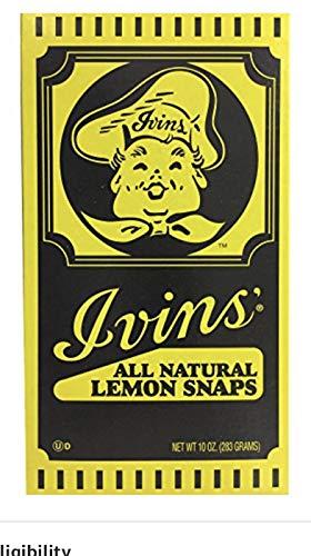 Ivins Famous Spiced Wafers 16 oz | Ivins Famous Lemon Snaps Naturally Flavored 10 Oz | Ivins Famous Chocolate Mini Sandwich Creme Cookies 10 Oz