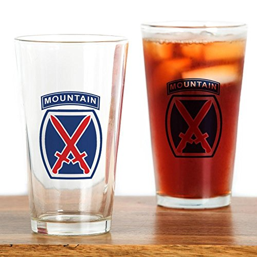 CafePress - 10th Mountain Division Drinking Glass - Pint Glass, (10th Mountain Infantry Division)