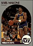 1990 Hoops Basketball Card (1990-91) #292 Karl Malone Near Mint/Mint