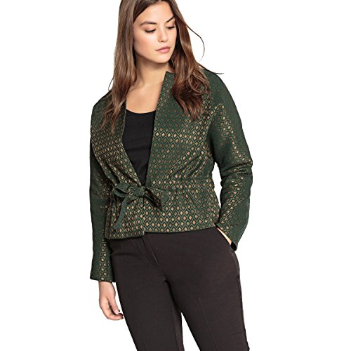 Castaluna Womens Jacquard Cropped Jacket With Bow&Nbsp; Other Size Us 12 - Fr 42